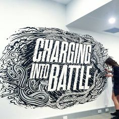 Charging into Battle by Gemma O'brien