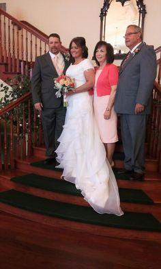 #staircase #wedding #marriage #family #bride