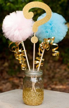 Gender Reveal Party Decoration Photo Prop Centerpiece Cake Topper Gold reveal ideas for party Simple Gender Reveal, Gender Reveal Box, Baby Gender Reveal Party, Baby Reveal Ideas, Glitter Gender Reveal, Baby Reveal Cakes, Gender Reveal Party Invitations, Gender Reveal Party Decorations, Gender Party Ideas
