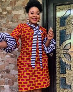 African Fashion Designers, African Fashion Ankara, African Print Fashion, Africa Fashion, African Dresses For Women, African Attire, African Outfits, Traditional African Clothing, Traditional Outfits