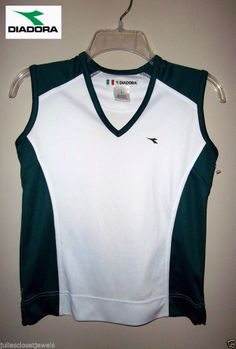 NEW Diadora Passione Performance Jersey Tank Top S Soccer Cycle Run Team Sports