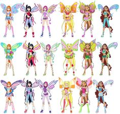Winx Sophix | Magic Winx Believix Sophix Lovix by Toshi-san