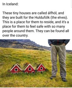 Iceland is for the elves. Cool Places To Visit, Places To Travel, Wtf Fun Facts, The More You Know, The Ranch, The Elf, That Way, Beautiful Places, Around The Worlds
