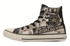 Chuck taylor all star batman comic print hi k by Converse (Multicolor)
