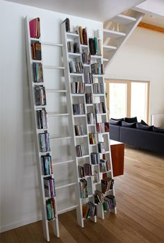 Open modular wooden #bookcase HÔ by La Corbeille Editions | #design Jocelyn Deris
