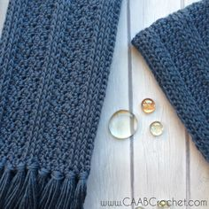This crochet scarf pattern creates a trendy statement piece. It is extra long with tons of snuggly texture. It also comes with a matching beanie pattern!