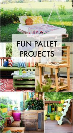 Pallet projects. Love them all!