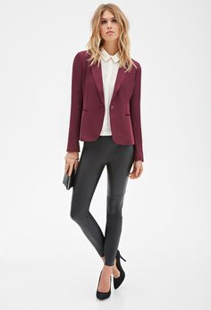 Forever 21 is the authority on fashion & the go-to retailer for the latest trends, styles & the hottest deals. Shop dresses, tops, tees, leggings & more! Forever 21, Shop Forever, Blazer Buttons, Must Haves, Latest Trends, Best Deals, My Style, Tees, Classic