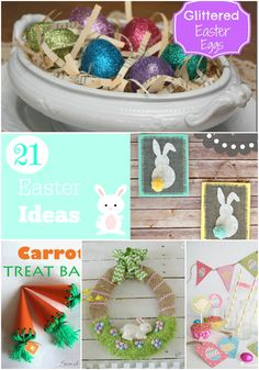 Easter Ideas #Easter #cupcakesandcrinoline
