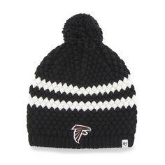 best service 26b86 35d12 Atlanta Falcons Kendall Beanie Black 47 Brand Womens Hat