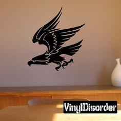 Bird Wall Decal - Vinyl Decal - Car Decal - DC196