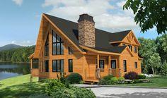 Fairmont Log Cabin Plan by Timber Block