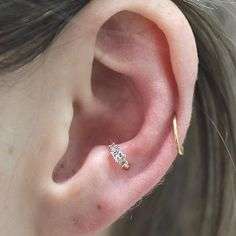 """2,114 Likes, 12 Comments - Ben Tauber (@bentauber) on Instagram: """"Here is a little repost of one of my favorite little anti tragus piercings I've done. I love the…"""""""