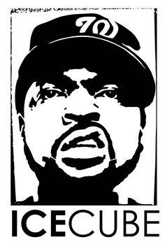 Arte Do Hip Hop, Hip Hop Art, Tattoo Stencils, Stencil Art, Canvas Frame, Canvas Wall Art, Canvas Prints, Rapper Art, Pop Art Portraits