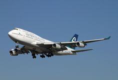 https://flic.kr/p/9CPiyK | Air New Zealand, Boeing 747-400 | Boeing 747-400 Air New Zealand LAX Nov. 16, 2010