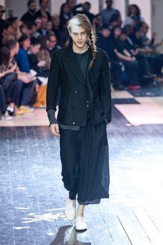 Yohji Yamamoto - Homme Printemps-été 2014 Paris