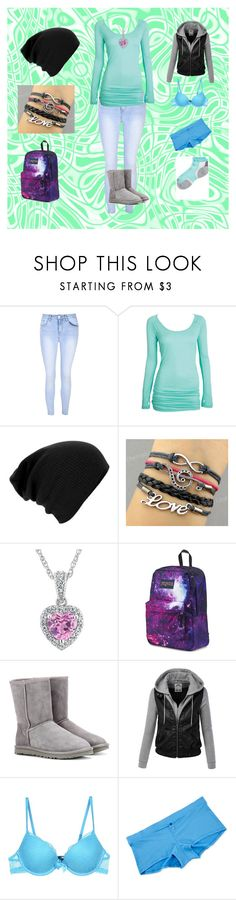 """Beginning of Infinity #15"" by cherokee-june ❤ liked on Polyvore featuring Glamorous, JanSport, UGG Australia, Passionata, Splendid and Thorlo"