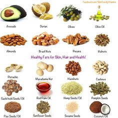 Healthy fats for skin, hair and health