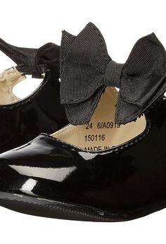 Amiana 6-A0919 (Toddler/Little Kid) (Black Patent PU) Girl's Shoes - Amiana, 6-A0919 (Toddler/Little Kid), 6-A0919 PAT PU-001, Footwear Closed General, Closed Footwear, Closed Footwear, Footwear, Shoes, Gift, - Fashion Ideas To Inspire
