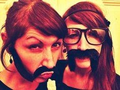 #Doppellotte #moustache #twins #Onlineshop