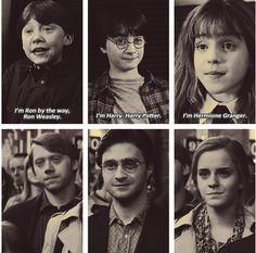 #harrypotter Harry Potter Rupert Grint Daniel Radcliffe Emma Watson