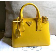Tip: Prada Handbag (Mustard)