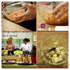 PÉ DA COZINHA: Como cozinhar frango no microondas em 6 minutos