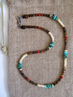 Native American Snake Eye Necklace
