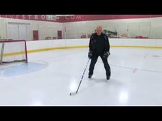 ▶ How to Ice Skate: Two Foot Glide and Snowplow Stop - YouTube