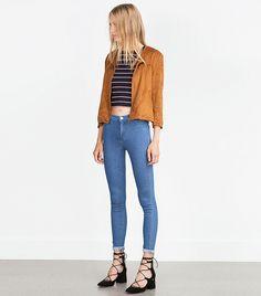 Zara Lace-Up Heels