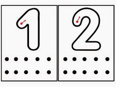 Otro juego para que los niños asocien número y cantidad es este que aquí os presento. Cada tarjeta tiene un número y los niños tendrán que ...