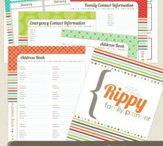 awesome website full of planner and calendar free printables - updated daily! bookmark now - create later!