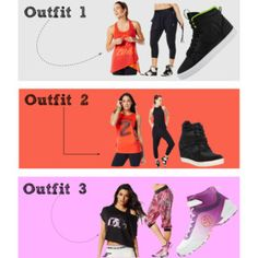 """Zumba Outfits"" by nessabirdie on Polyvore"