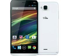 WIKO Slide Dual-SIM Smartphone 14 cm (5.5 Zoll) 1.3 GHz Quad Core 4 GB 8 Mio. Pixel Android™ 4.4 W