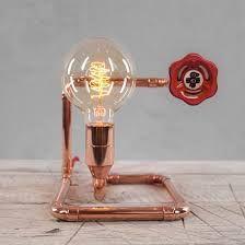 Znalezione obrazy dla zapytania COPPER PIPES LAMP