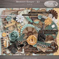 Memory Keeper - Full Kit | WendyP Designs
