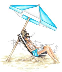 summer   beach days   beach style   bathing suit   bathing suit trends   one piece bathing suits   beach coverups   fashion illustration   brittany fuson