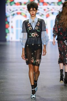 Anna Sui | Ready-to-Wear Spring 2017 | Look 47