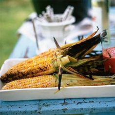 Spicy Grilled Corn | MyRecipes.com #myplate #vegetables