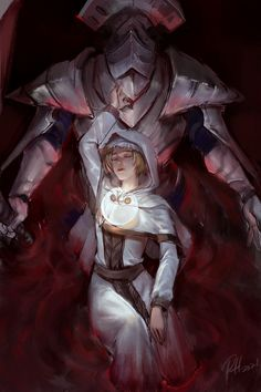 Dark Souls, Demon's Souls, Dark Fantasy, Fantasy Art, Lady Maria, Bloodborne Art, Soul Game, Sci Fi, Digital Art