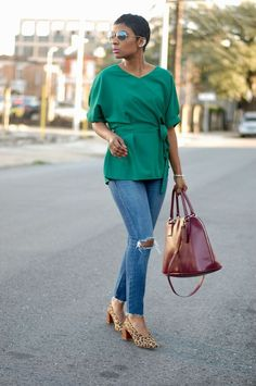 Green Top | YOUNG AT STYLE | Bloglovin'