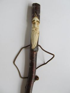 Hand Carved Hiking Stick Hand Carved Walking by NorthWindCarvings