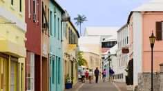 Bermuda - Buildings were painted to compliment the colors of the flowers growing on the island. Beautiful!