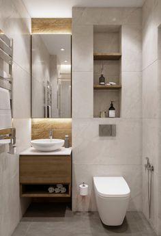 Washroom Design, Bathroom Design Luxury, Modern Bathroom Design, Small Bathroom Interior, Bathroom Styling, Small Toilet Room, Bathroom Design Inspiration, Cozy Living, House