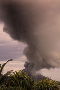 Tavurvur Volcano, Rabaul, Papua New Guinea