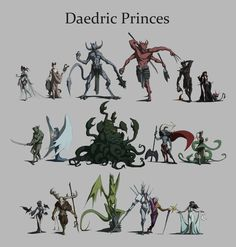 The Elder Scrolls V: Skyrim | Daedric Princes