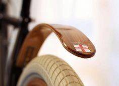 Woody's Chop Chort Wood Bike Fender #bicycle #fenders