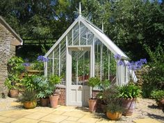 The Hidcote National Trust Greenhouse by Alitex