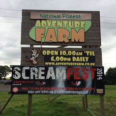 A must visit if you live in the Midlands, there is so much to do you could stay all day. The National Forest Adventure Farm