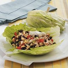 Southwestern Chicken Lettuce Wraps with Spicy Chipotle Dipping Sauce   Anthem Blue Cross Blue Shield   Healthy Coupons
